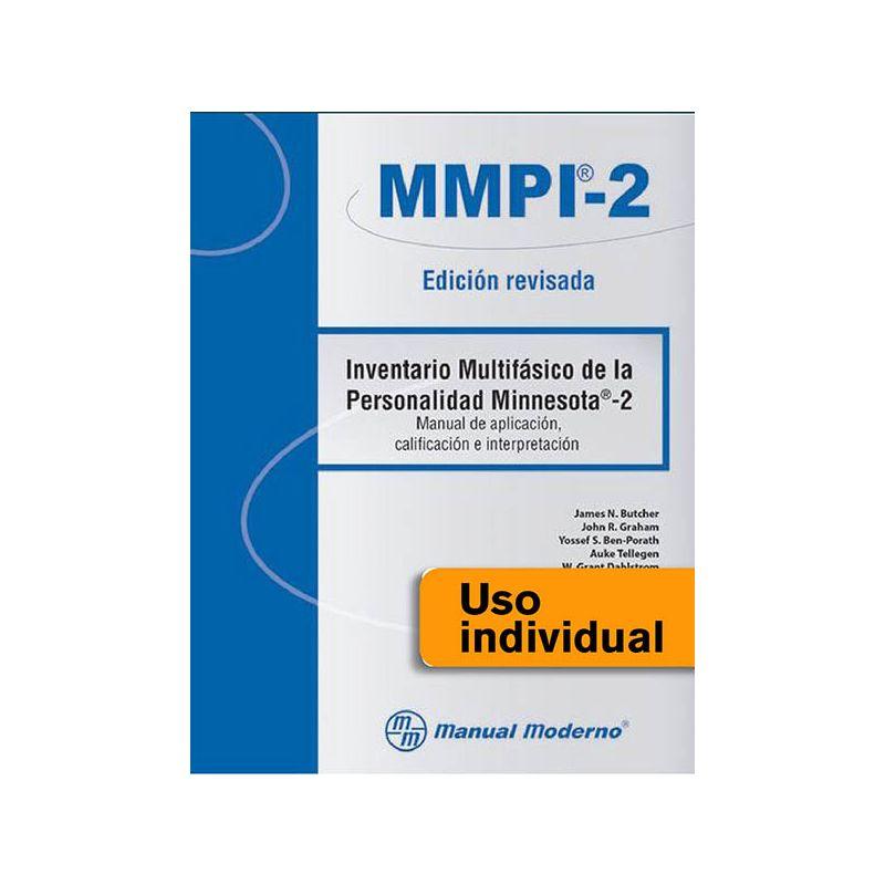 Tarjeta Uso Individual / Inventario Multifásico de la Personalidad Minnesota®-2. Edición revisada