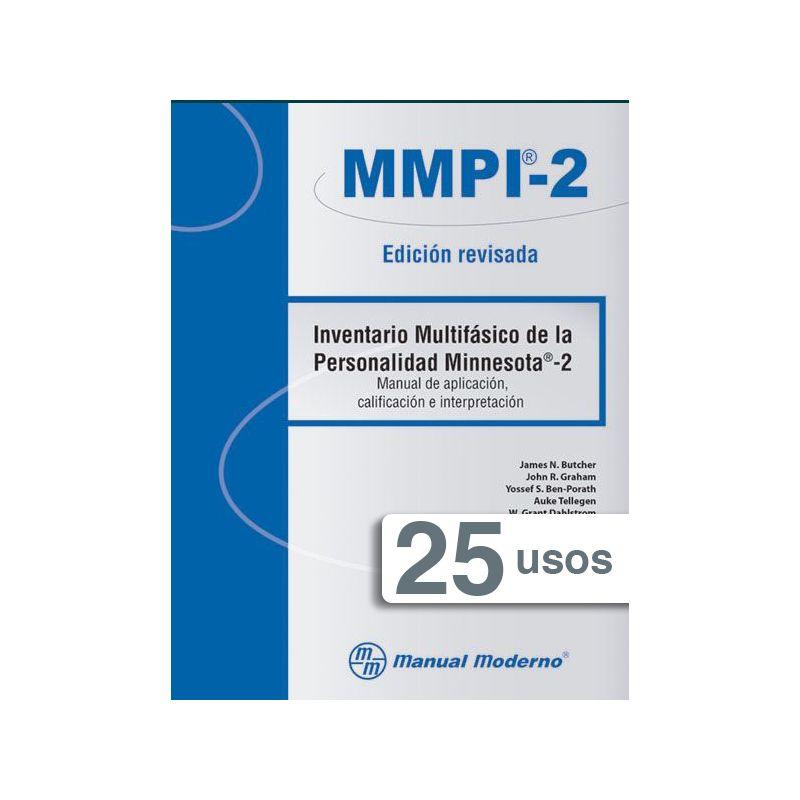 Tarjeta electrónica  / Inventario Multifásico de la Personalidad Minnesota®-2. Edición revisada