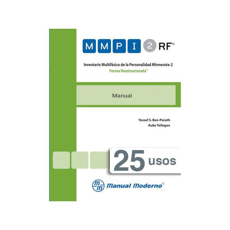 Tarjeta electrónica  / Inventario Multifásico de la Personalidad Minnesota-2. Forma Reestructurada®