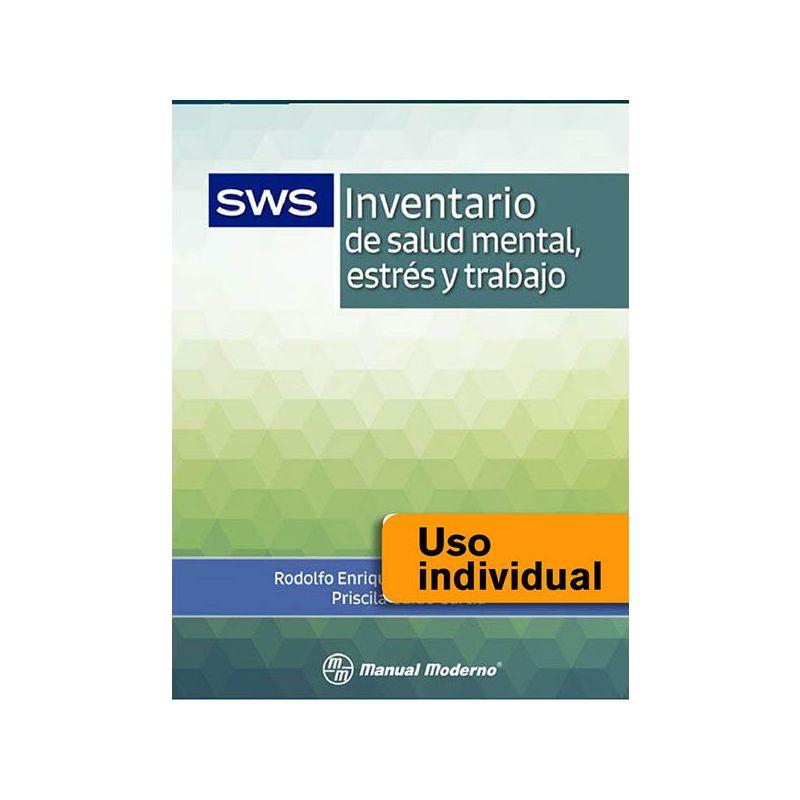 Tarjeta Uso Individual / Inventario de salud mental, estrés y trabajo SWS
