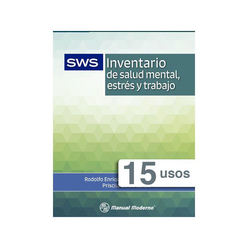 Tarjeta electrónica / Inventario de salud mental, estrés y trabajo SWS