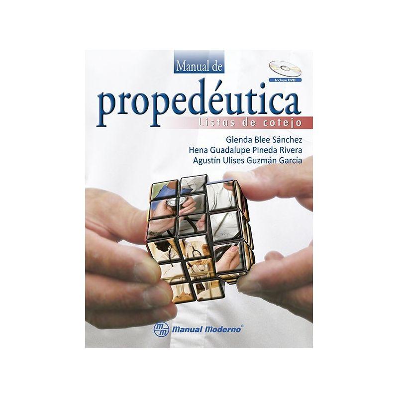 Manual de propedéutica. Listas de cotejo
