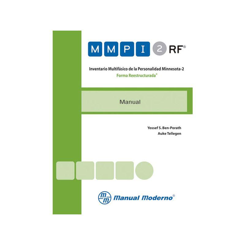 Inventario Multifásico de la Personalidad Minnesota-2. Forma Reestructurada®