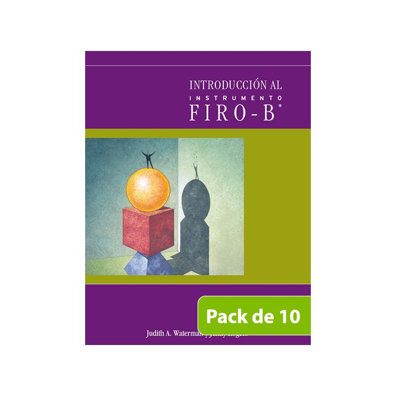 Introducción al Firo-B® - PACK DE 10 -