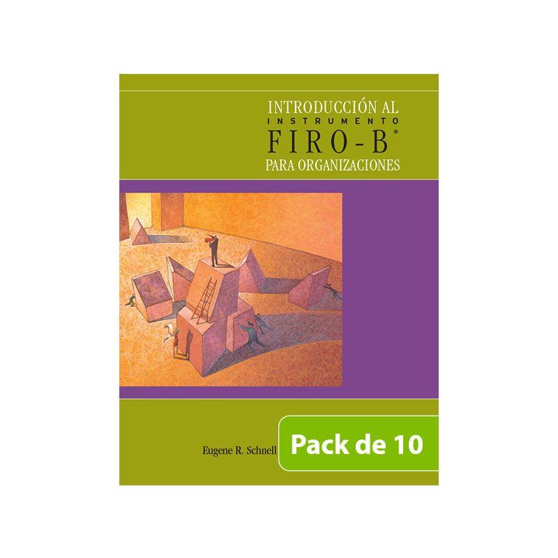 Introducción al Instrumento Firo B® para Organizaciones - PACK DE 10 -